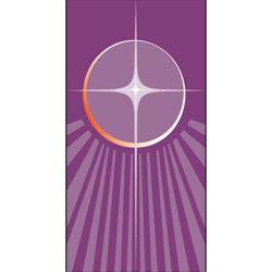 Inside Banner, small - Star - Purple, small