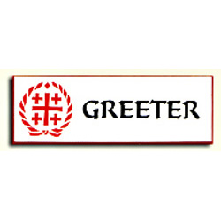 Hospitality Badge - Greeter