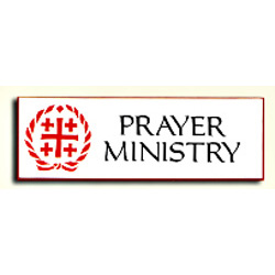 Hospitality Badge - Prayer Ministry