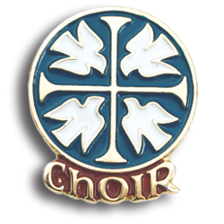 Lapel Pin - Choir/Music