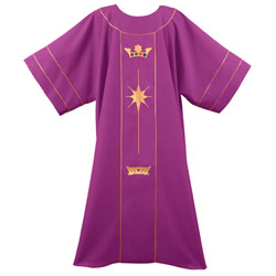 Dalmatic - Crown & Star (Theological Threads)