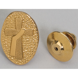 Lapel Pin w/Deacon Cross
