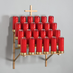 Votive Stand, wall mount