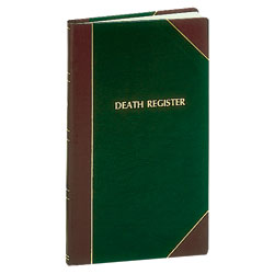Death Record Book | Register | 1400 entries | #193