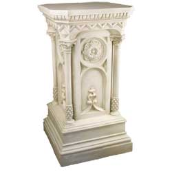 Columned Church Pedestal