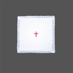 Chalice Pall with Red Cross Embroidery