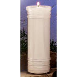 Sanctuary Candle - 7 Day Plastic, 24 per case