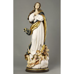 Assumption Woodcarved Statue