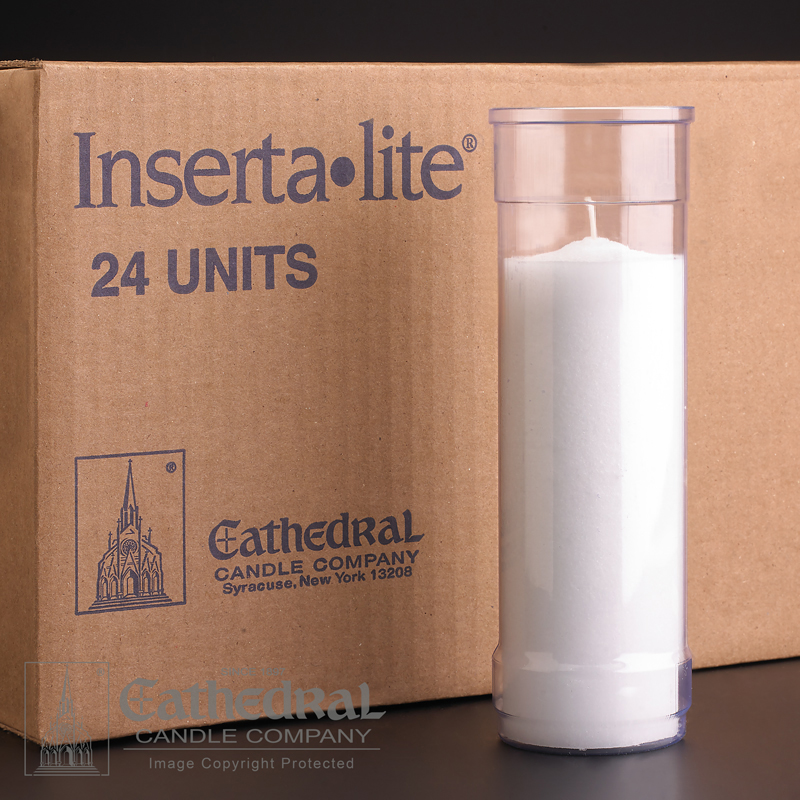 Inserta Lite Candle | 5 Day | Clear | case of 24