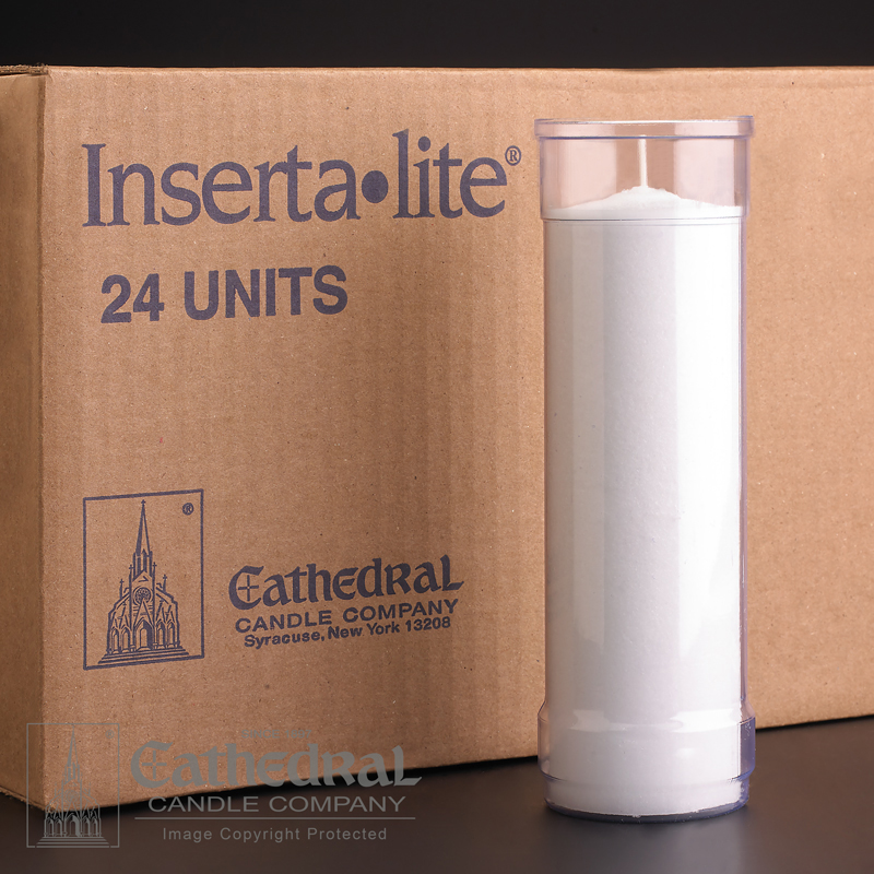 Inserta Lite Candle | 6 Day | Clear | case of 24