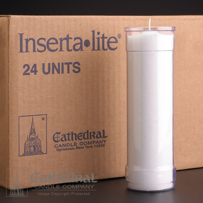 Inserta Lite Candle | 7 Day | Clear | case of 24