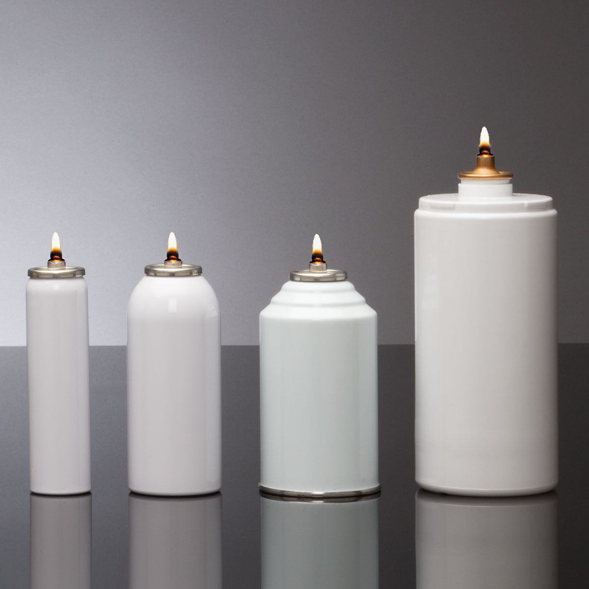 Disposable Candle Fuel Containers 70 Hour Metal