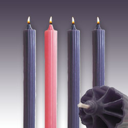 Advent Candles - Dripless