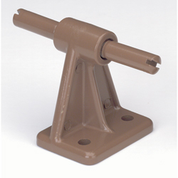 Pew Kneeler Center Bracket without Rubber Stop, each