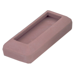 Rubber Bumpers for Metal Legged Pew Kneelers | Per Hundred