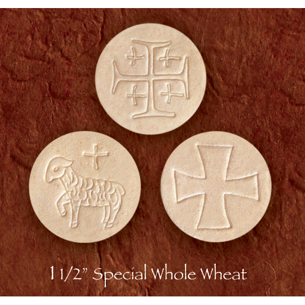 Altar Bread | Communion Host | Whole Wheat | 1-1/2