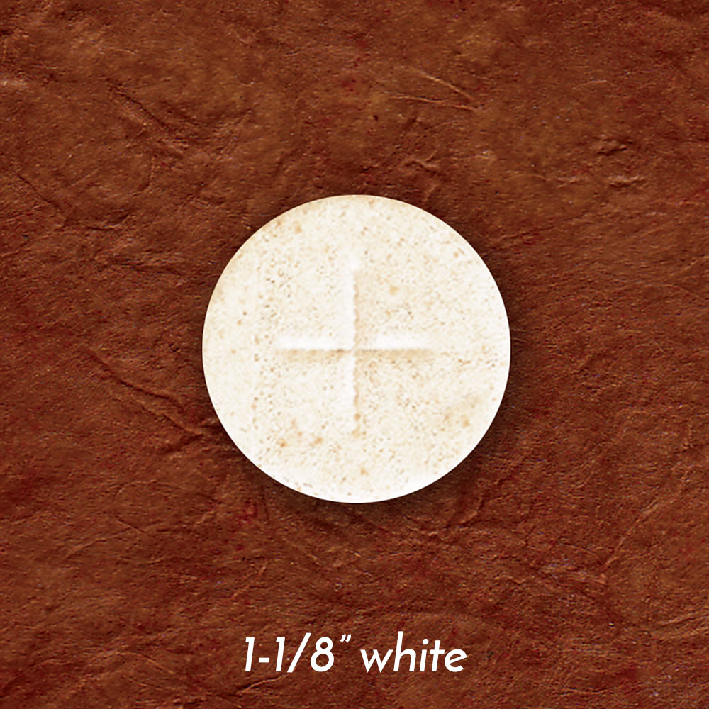 Altar Bread | Communion Host | White | 1-1/8
