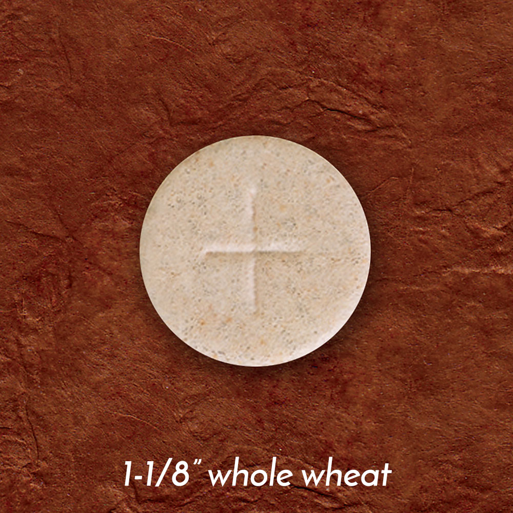 Altar Bread | Communion Host | Whole Wheat | 1-1/8