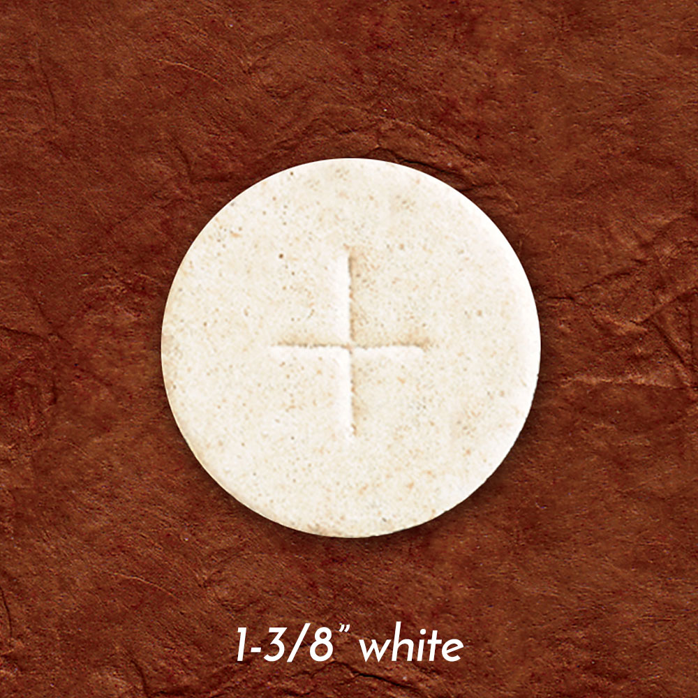 Altar Bread | Communion Host | White | 1-3/8