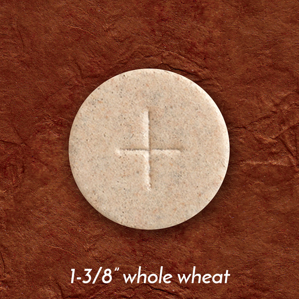 Altar Bread | Communion Host | Whole Wheat | 1-3/8