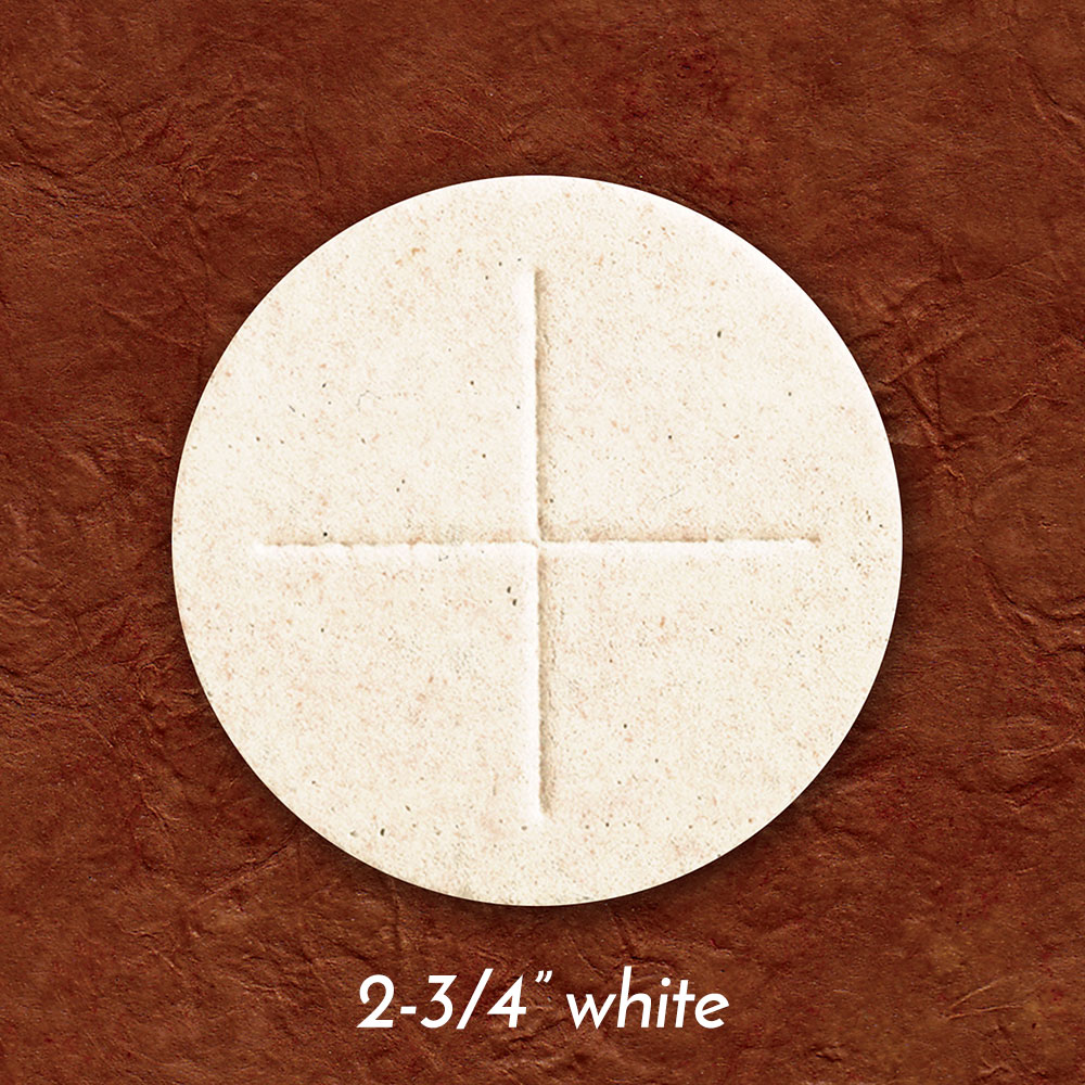 Altar Bread | Communion Host | White | 2-3/4
