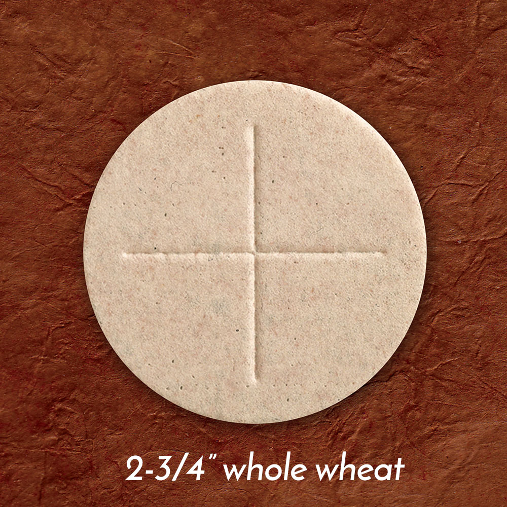Altar Bread | Communion Host | Whole Wheat | 2-3/4