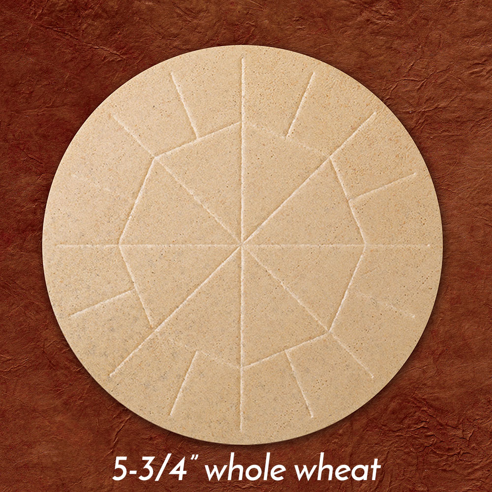 Altar Bread | Communion Host | Whole Wheat | 5-3/4