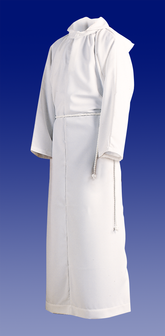 Altar Server Alb | Poly Cotton | Hood or No Hood | Style 205 or 206