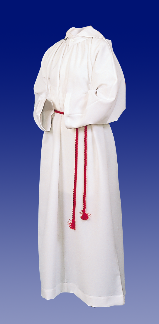 Altar Server Alb | 100% Poly | Hood or No Hood | Style 207 or 208
