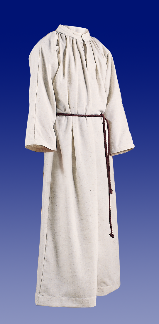 Altar Server Alb | Flax | Hood or No Hood | Style 210 or 211