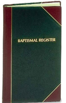 Baptism Record Book | Register | 1000 entries | #103