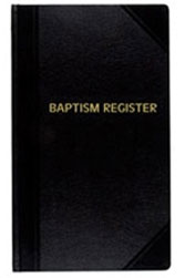 Baptism Record Book | Register | 500 entries | #23