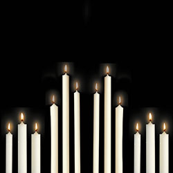 Altar Candles 51% Beeswax - Cathedral Candle Company