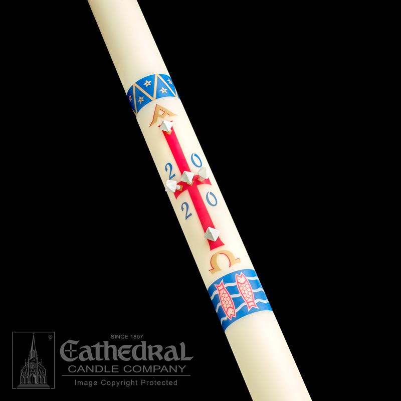 Paschal Candle | Benedictine | Classic
