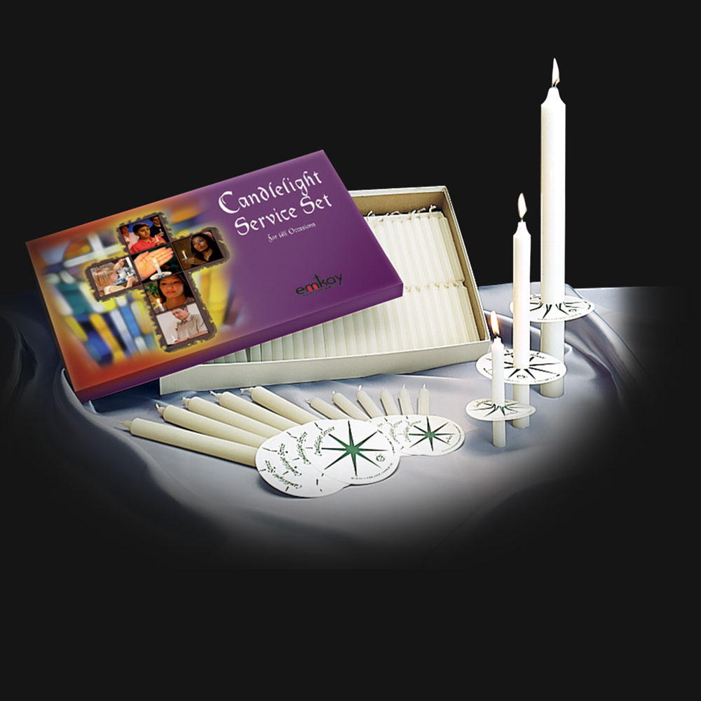 Candlelight Service Set | serves 250