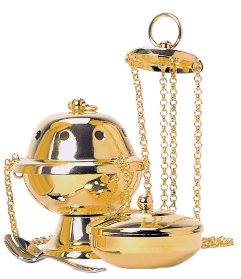 Censer and Boat | Thurible | K1001