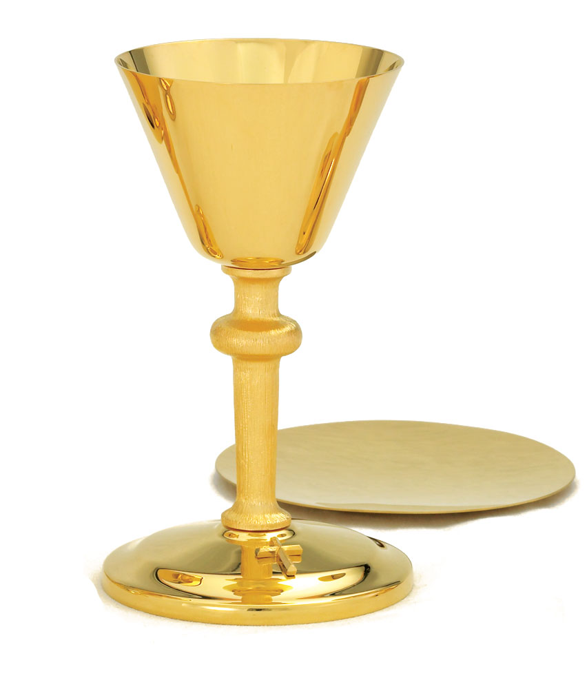Communion Chalice and Paten | A-100G