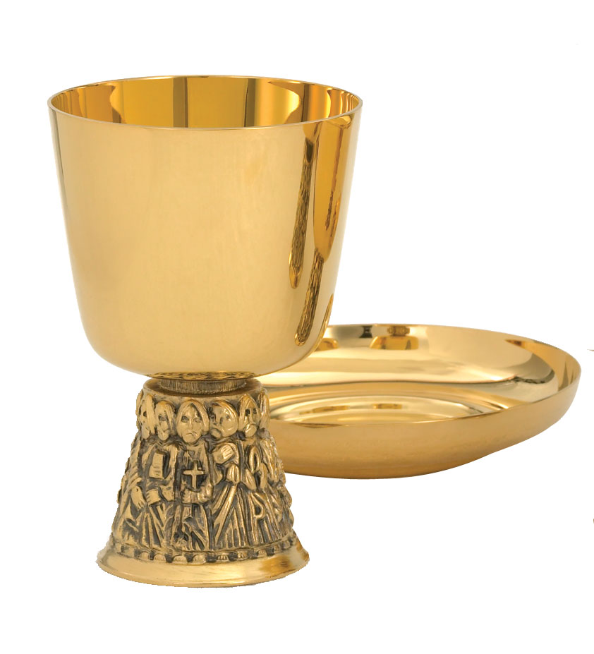 Communion Chalice and Paten | A-2504G