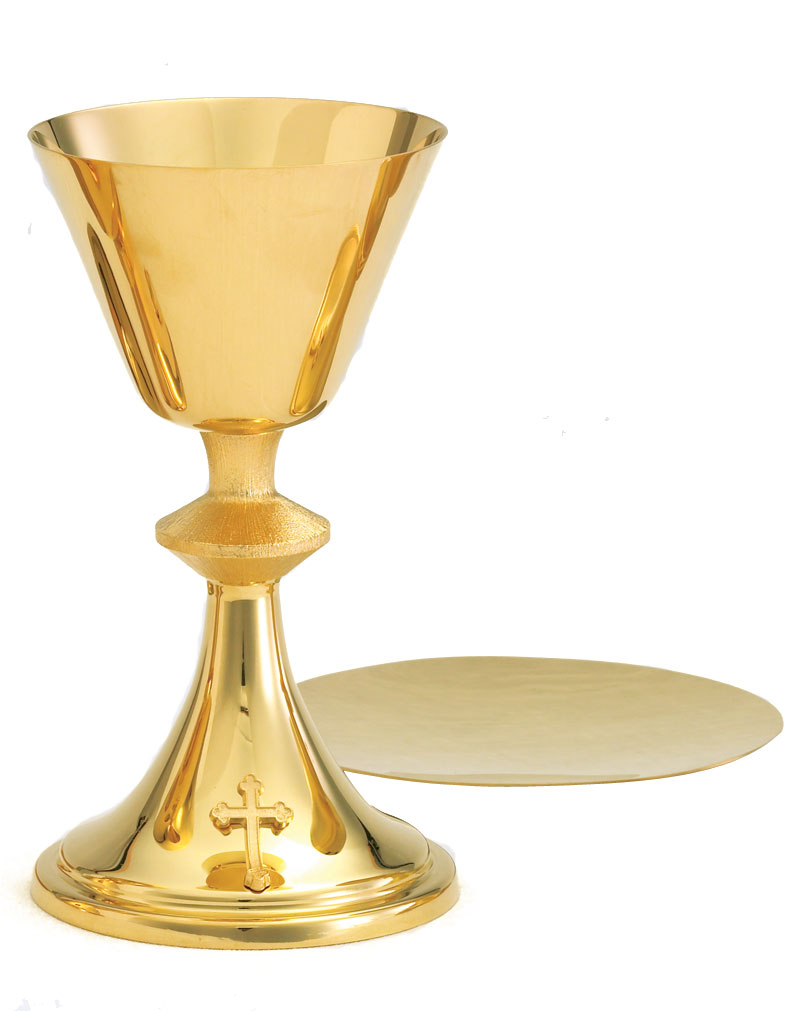 Communion Chalice and Paten | A-9010G