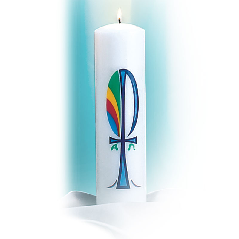 Christ Candle | Chi Rho