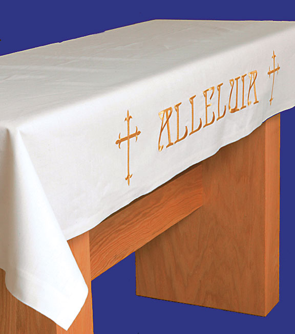 Communion Table Cloth Alleluia