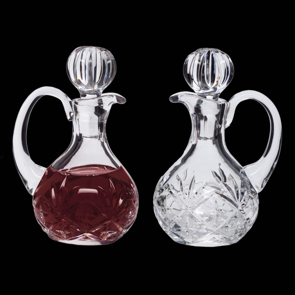 Cruet Set for Communion Wine | Crystal | 6 oz | CB-10