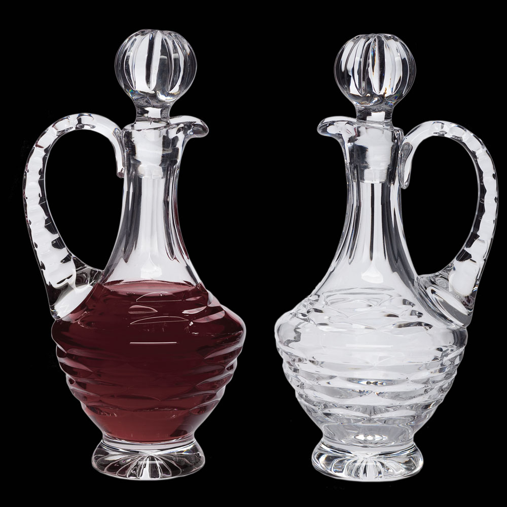 Cruet Set for Communion Wine | Crystal | 8 oz | CB-12