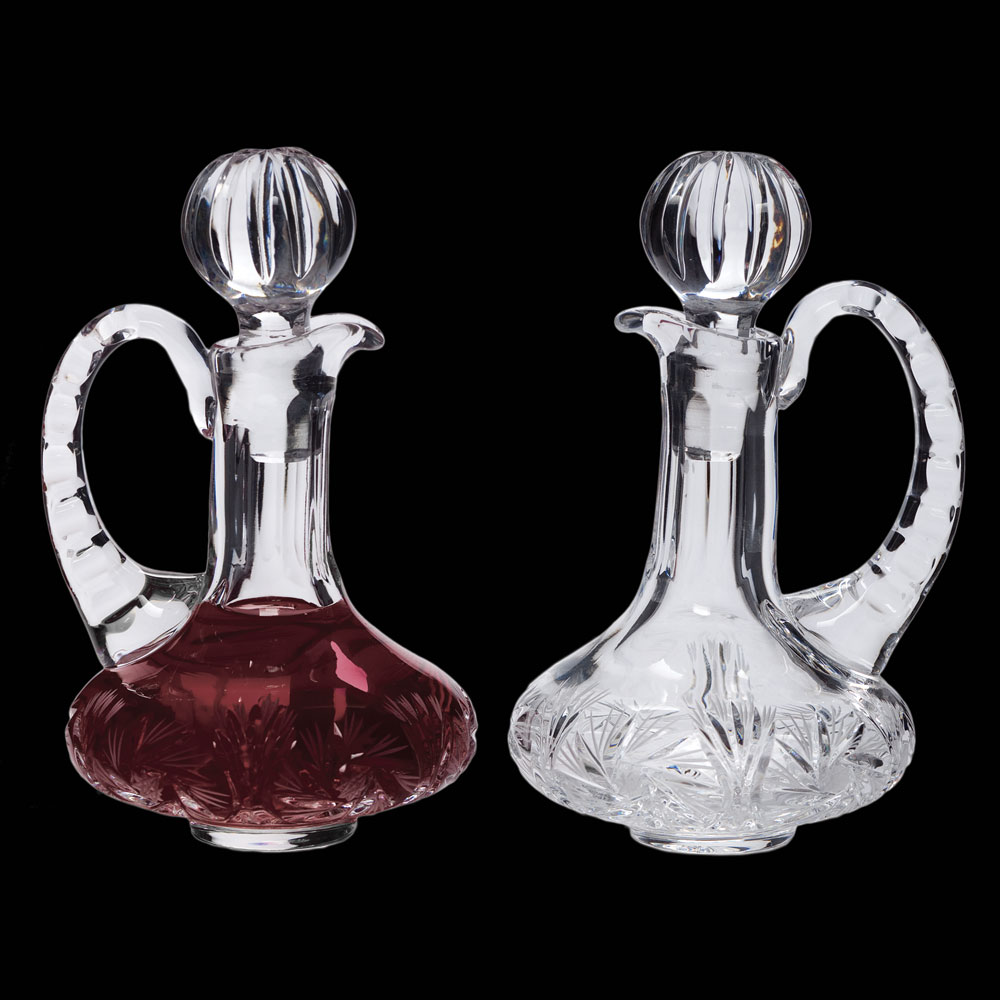 Cruet Set for Communion Wine | Crystal | 5 oz | CB-13