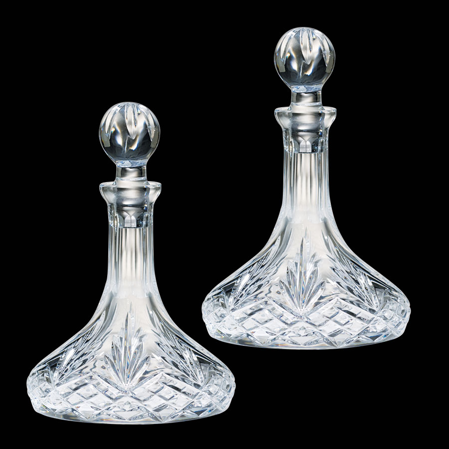 Cruet Set for Communion Wine | Crystal | 15 oz | K954