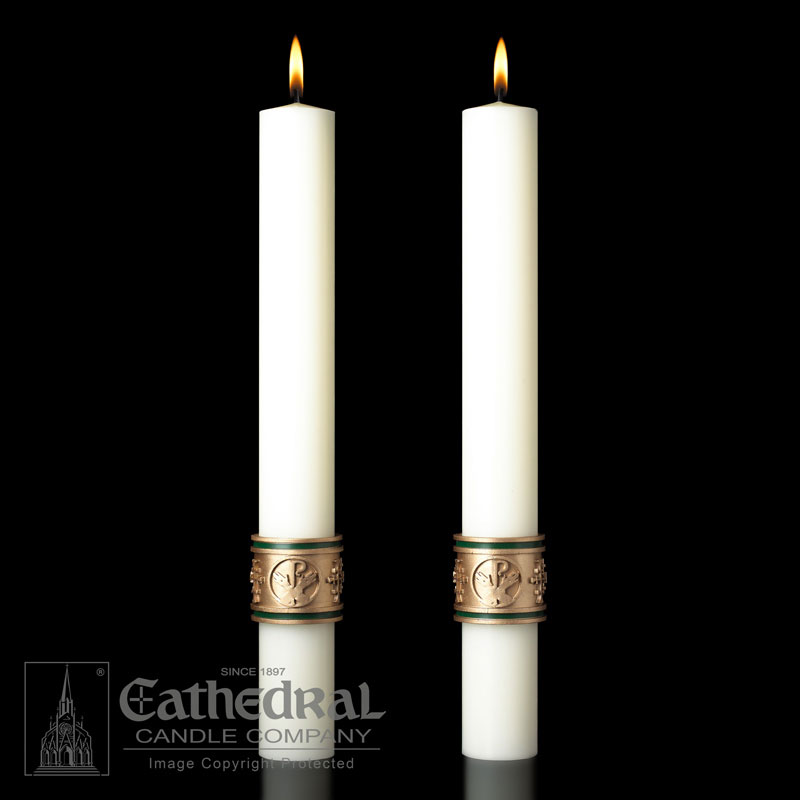Altar Candle - Cross of St Francis
