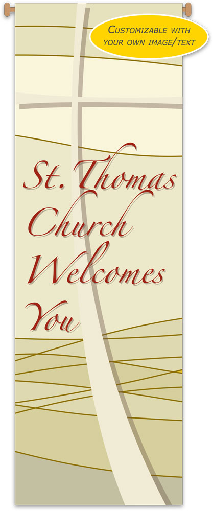 Custom Church Banner