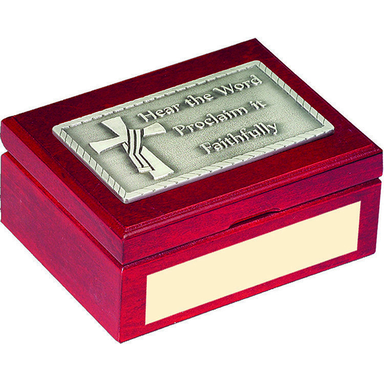 Deacon's Cross Keepsake Box