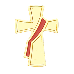 Deacon Lapel Pin - Red