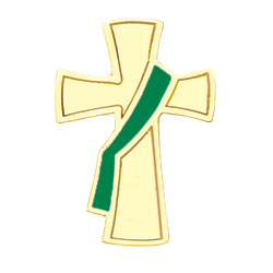 Deacon Lapel Pin - Green